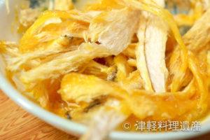 【青森県】カチカチの鱈を生卵に浸せば、極上のおかずに!『たらたま』